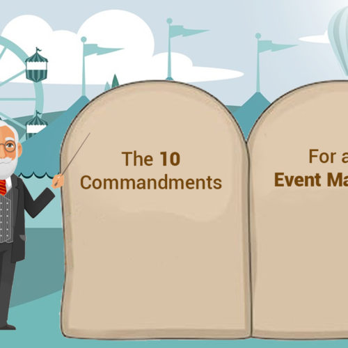 10 Commandments For An Event Manager